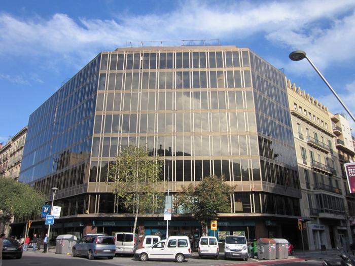 Fachada - Oficina en alquiler en Eixample en Barcelona - 121057897