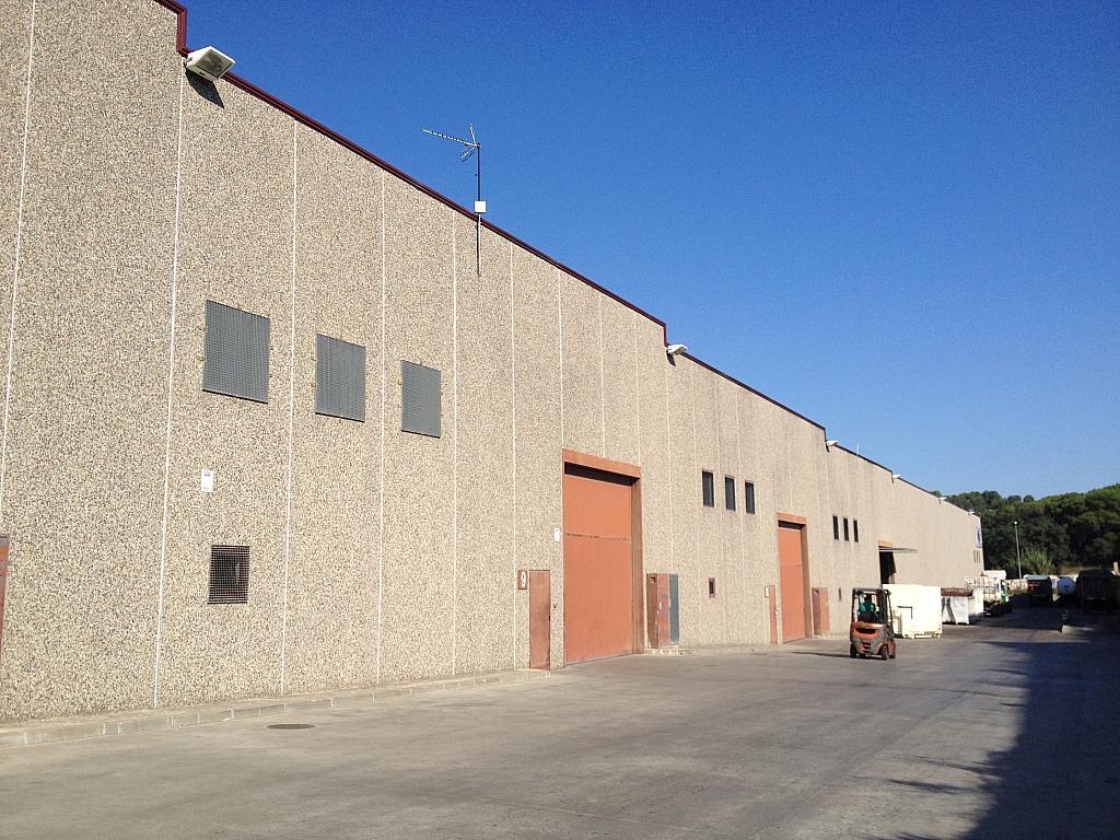 Fachada - Nave industrial en alquiler en Lliçà de Vall - 134126622