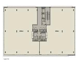 Plano - Oficina en alquiler en Diagonal Mar en Barcelona - 170658640