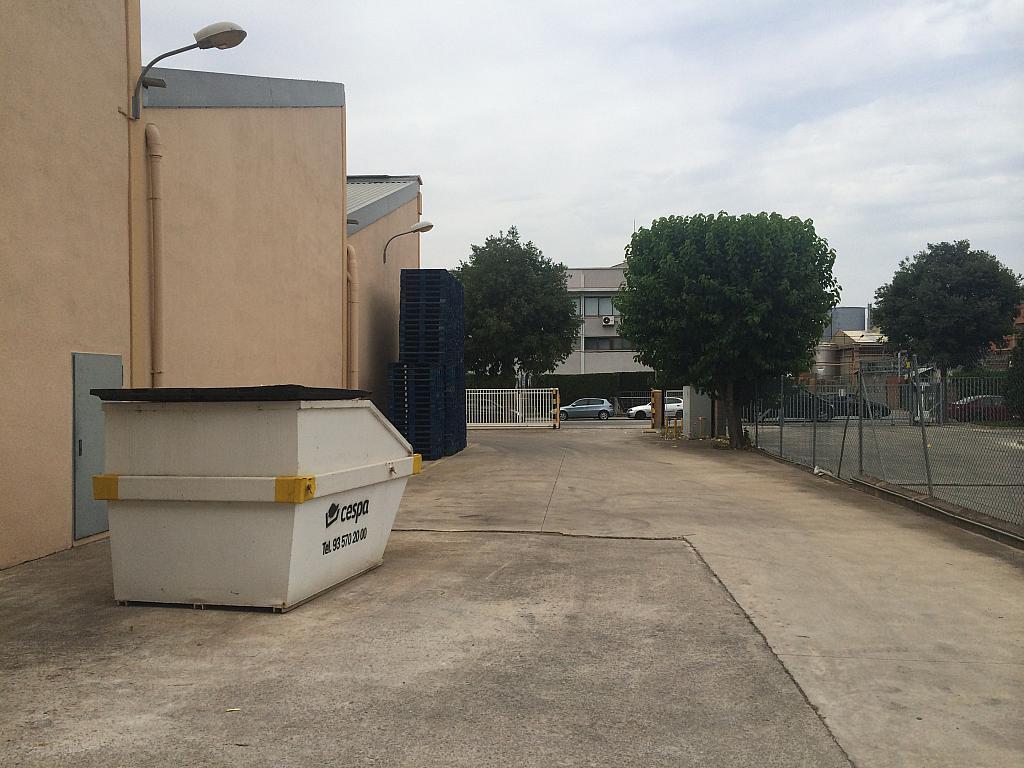 Patio delantero - Nave industrial en alquiler en Montornès del Vallès - 203975222