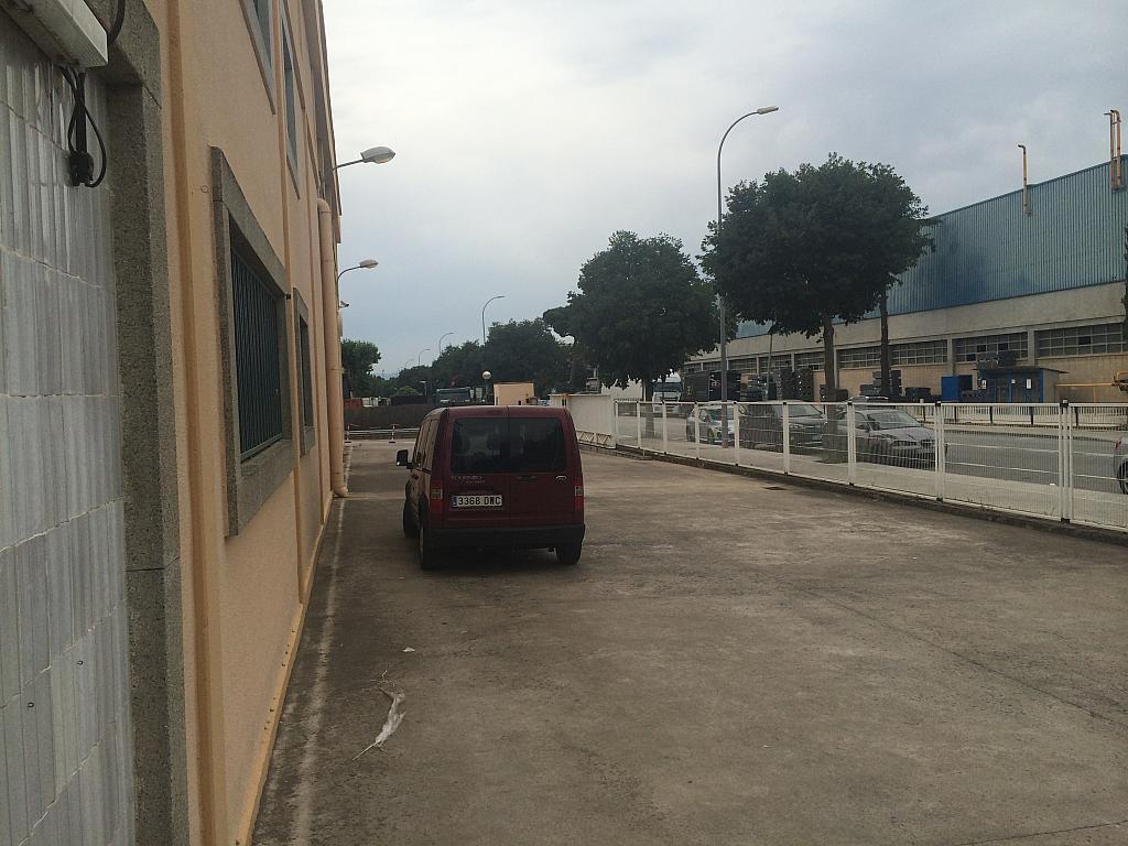Patio delantero - Nave industrial en alquiler en Montornès del Vallès - 203975224