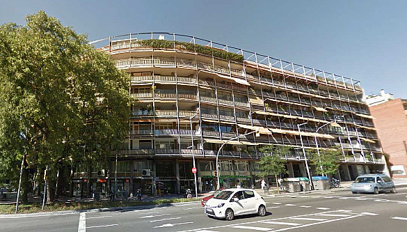 Fachada - Piso en alquiler en Les Tres Torres en Barcelona - 217425973