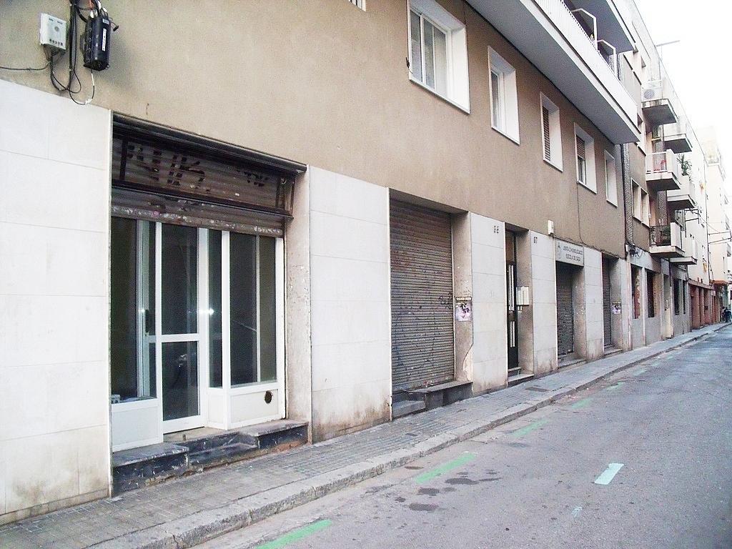 Fachada - Local comercial en alquiler en calle Melcior de Palau, Sants en Barcelona - 282381617