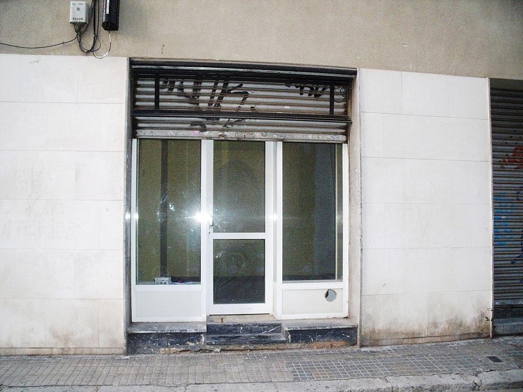 Fachada - Local comercial en alquiler en calle Melcior de Palau, Sants en Barcelona - 282381626