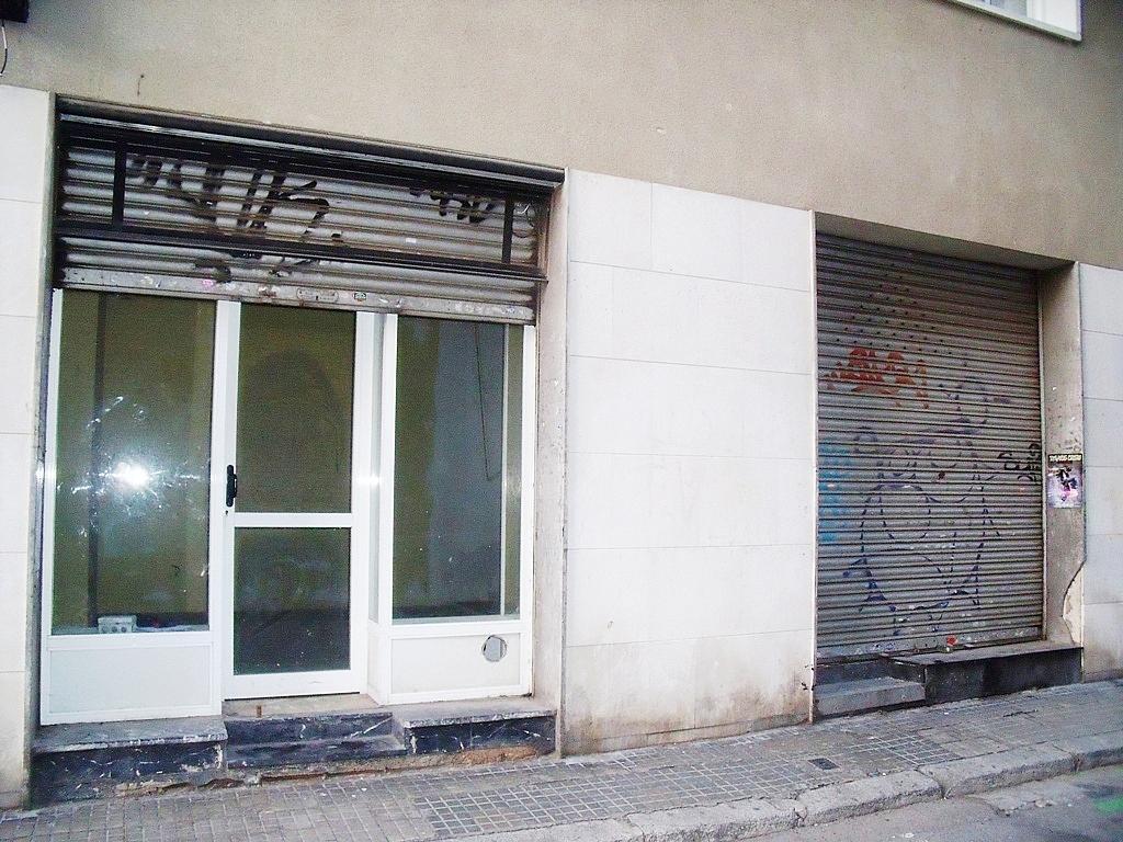 Fachada - Local comercial en alquiler en calle Melcior de Palau, Sants en Barcelona - 282381637