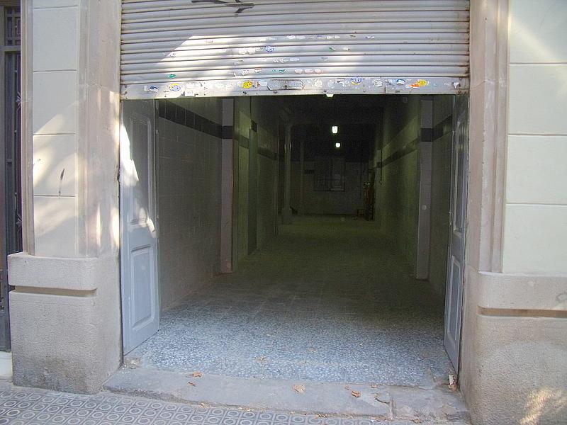 Fachada - Local comercial en alquiler en calle Valladolid, Sants en Barcelona - 220022233