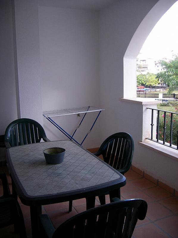 Terraza - Piso en alquiler en Torre Pacheco - 256047055