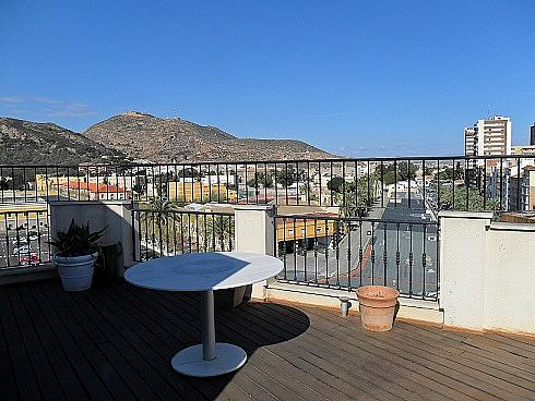Terraza - Ático en alquiler en Casco en Cartagena - 257878395
