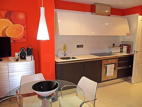 Cocina - Ático en alquiler en Casco en Cartagena - 257878416