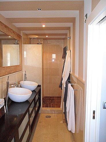 Baño - Ático en alquiler en Casco en Cartagena - 257878441