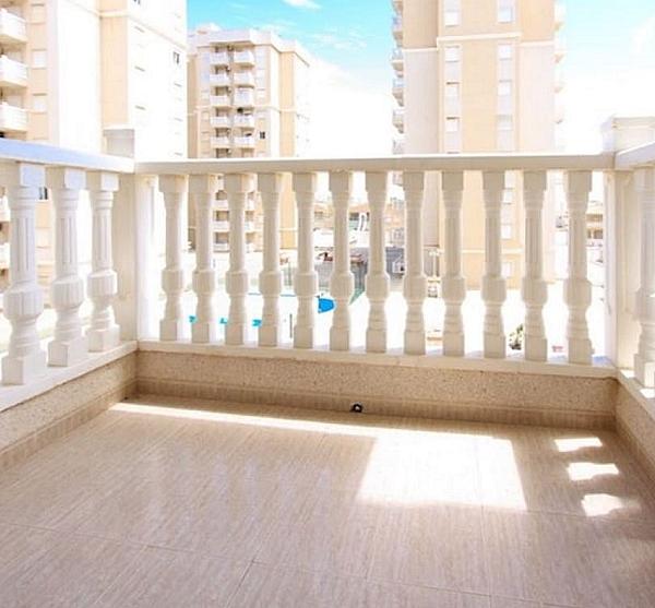 Terraza - Piso en alquiler en Cartagena - 323064322