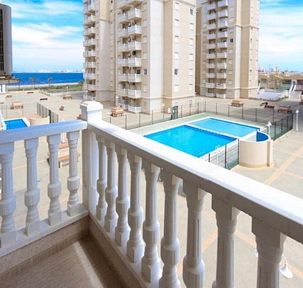 Terraza - Piso en alquiler en Cartagena - 323064327