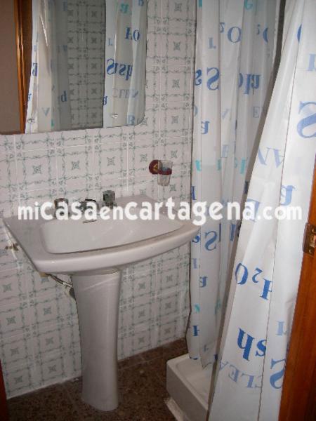 Baño - Piso en alquiler en Casco en Cartagena - 78187619