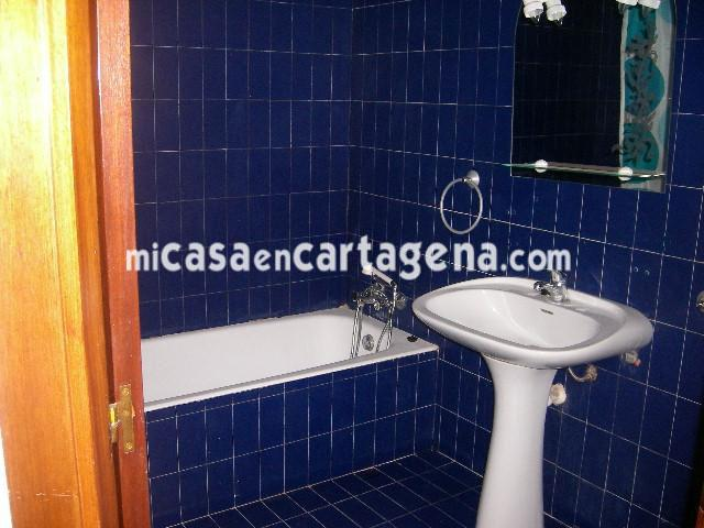 Baño - Piso en alquiler en Casco en Cartagena - 78187628