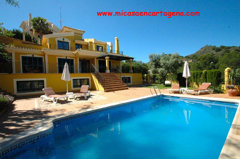 Piscina - Villa en alquiler en Belones, Los - 119911470