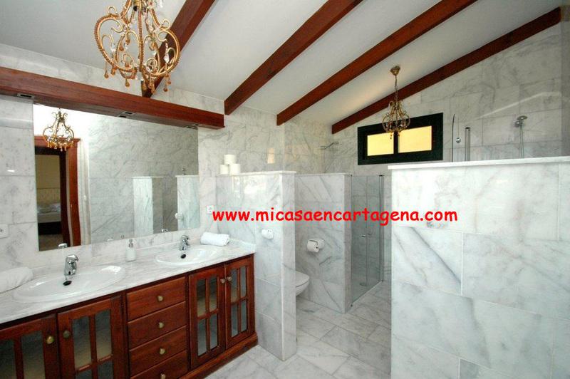 Baño - Villa en alquiler en Belones, Los - 119911471