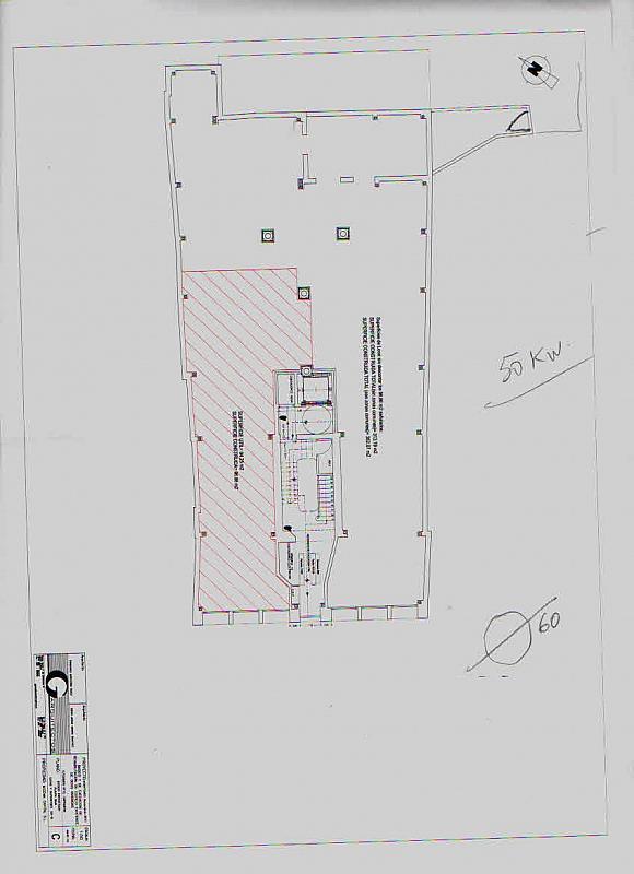 Plano - Local comercial en alquiler en Casco antiguo en Cartagena - 177341565