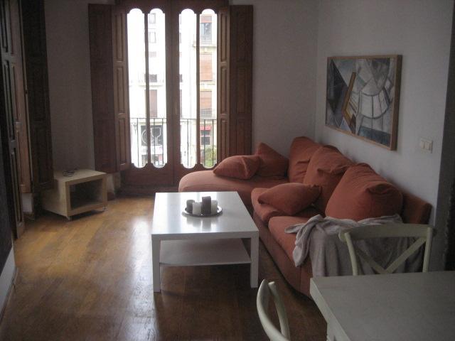 Salón - Piso en alquiler en calle Tossal, El Mercat en Valencia - 96698947