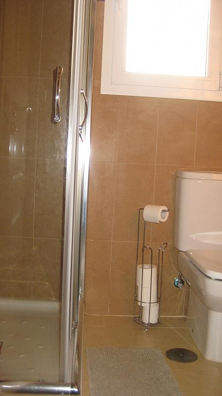 Baño - Ático en alquiler de temporada en calle Tomillar, Torre del mar - 299249749