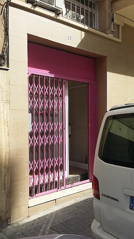Fachada - Local comercial en alquiler en calle Cardener, La Salut en Barcelona - 287686761