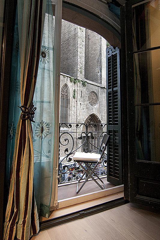 Balcón - Piso en alquiler en plaza Sant Josep Oriol, El Gótic en Barcelona - 308861471