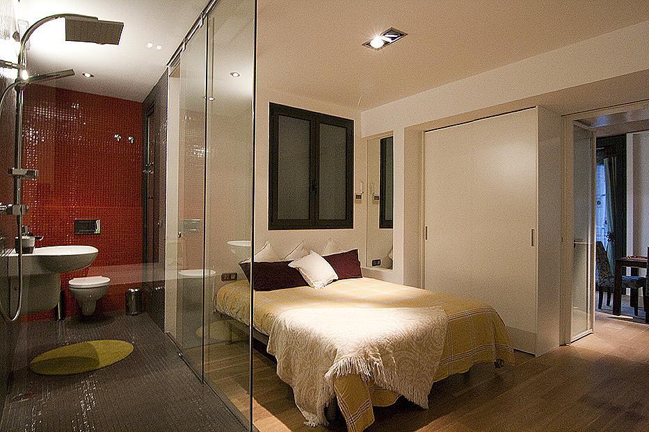 Dormitorio - Piso en alquiler en plaza Sant Josep Oriol, El Gótic en Barcelona - 308861478