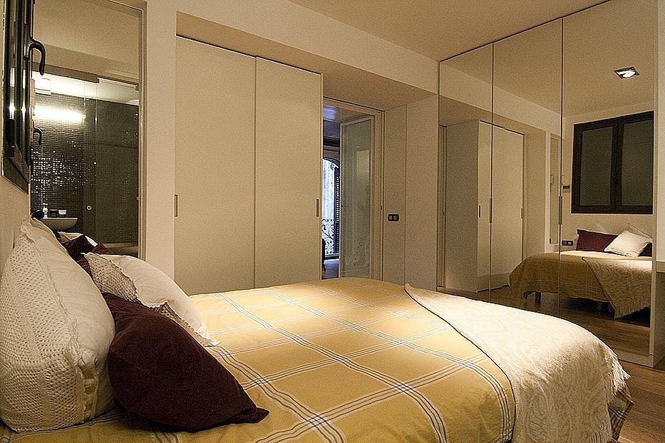 Dormitorio - Piso en alquiler en plaza Sant Josep Oriol, El Gótic en Barcelona - 308861483