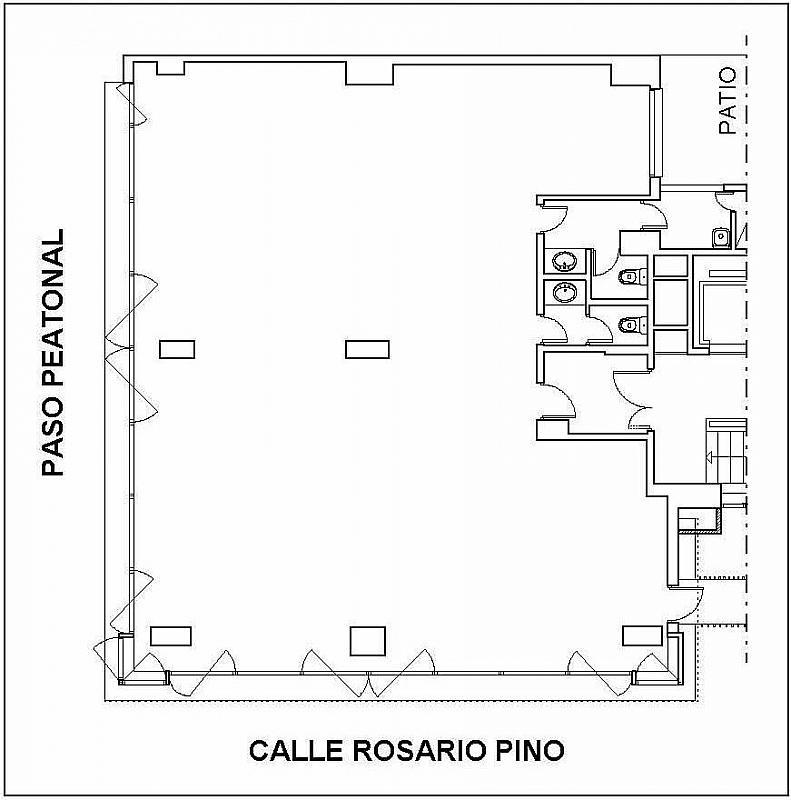 Oficina en alquiler en calle Orense, Castillejos en Madrid - 327578920