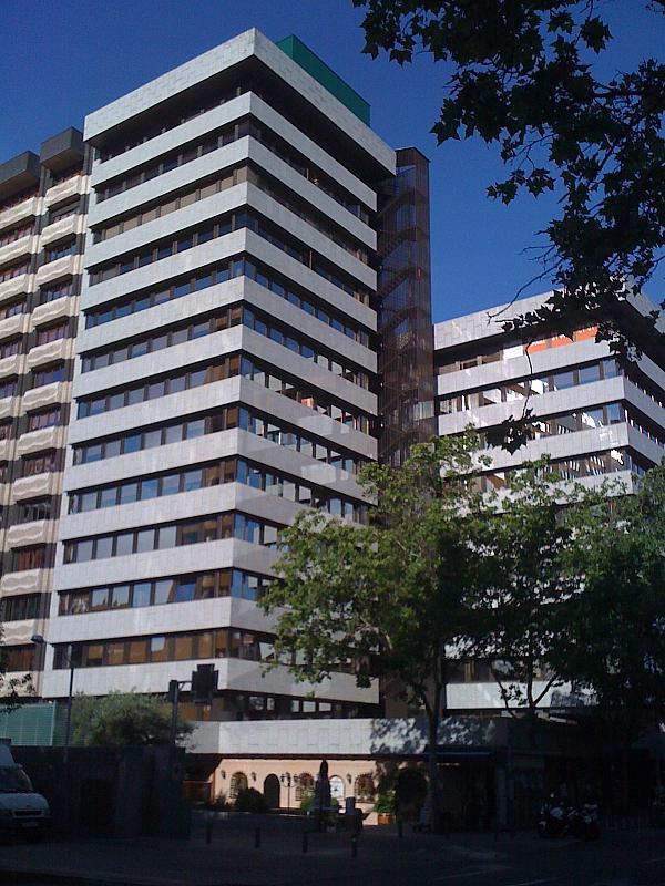 Fachada - Oficina en alquiler en calle Orense, Castillejos en Madrid - 190555113