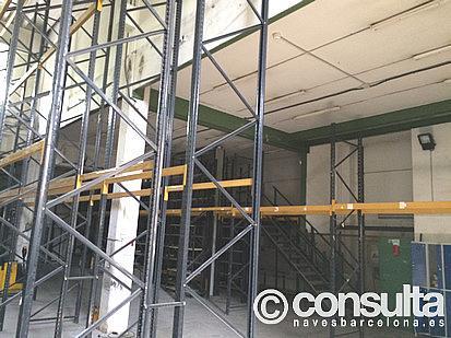 Nave industrial en alquiler en calle Cornella, Cornellà de Llobregat - 296583944