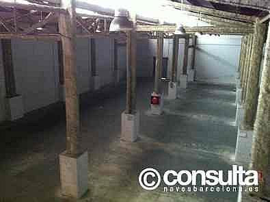 Planta baja - Nave industrial en alquiler en calle Bon Pastor, Bon Pastor en Barcelona - 329080246