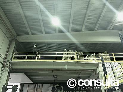 Planta altillo - Nave industrial en alquiler en polígono Almeda, Almeda en Cornellà de Llobregat - 242383343