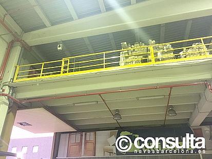 Planta altillo - Nave industrial en alquiler en polígono Almeda, Almeda en Cornellà de Llobregat - 242383349