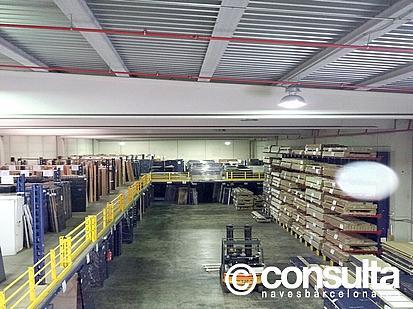 Planta baja - Nave industrial en alquiler en polígono Almeda, Almeda en Cornellà de Llobregat - 242383452