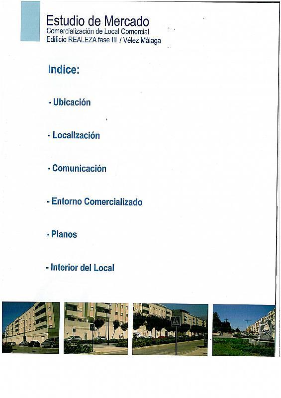 Local comercial en alquiler en calle Camino Velez Malaga, Vélez-Málaga - 199696038
