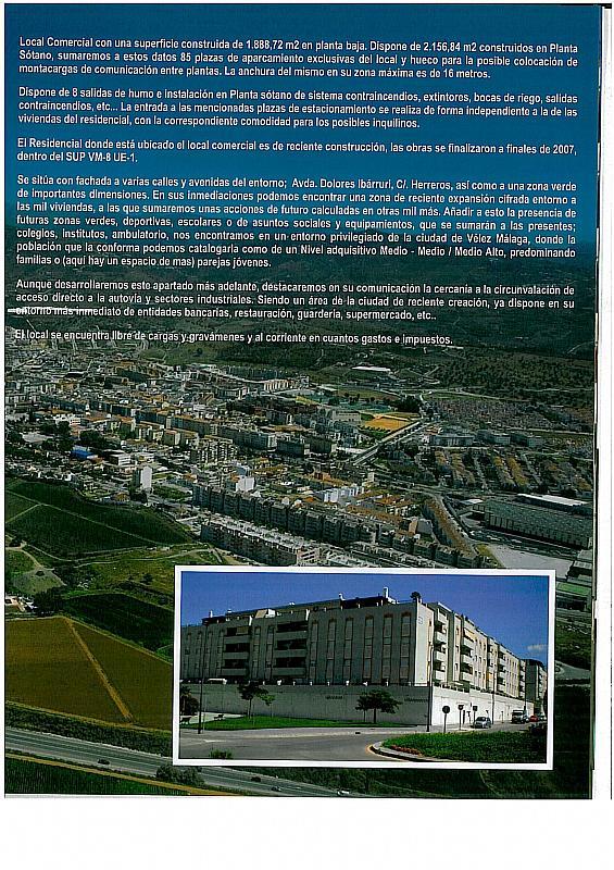 Local comercial en alquiler en calle Camino Velez Malaga, Vélez-Málaga - 199696054