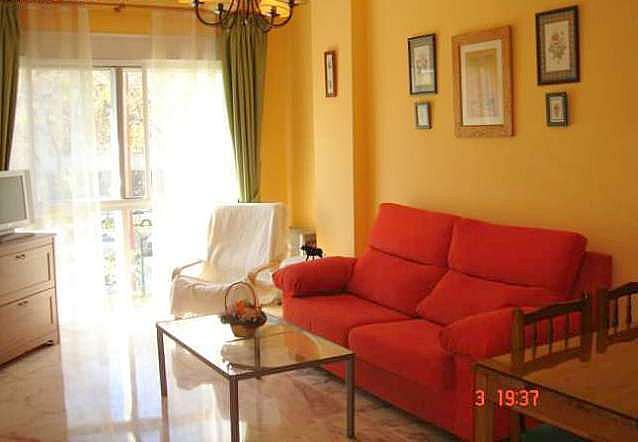 Salón - Apartamento en alquiler en calle Alcalde Luis Uruñuela, Entrepuentes en Sevilla - 249929887