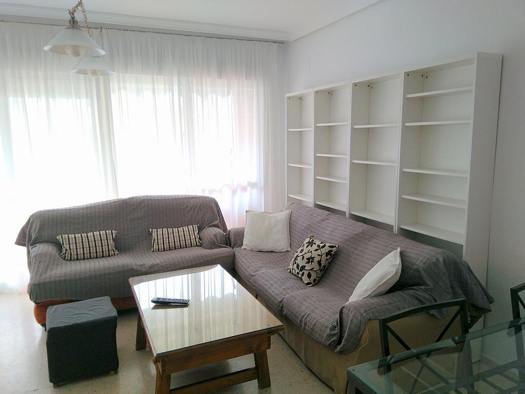 Salón - Piso en alquiler en calle Marques de Nervion, Nervión en Sevilla - 269055541