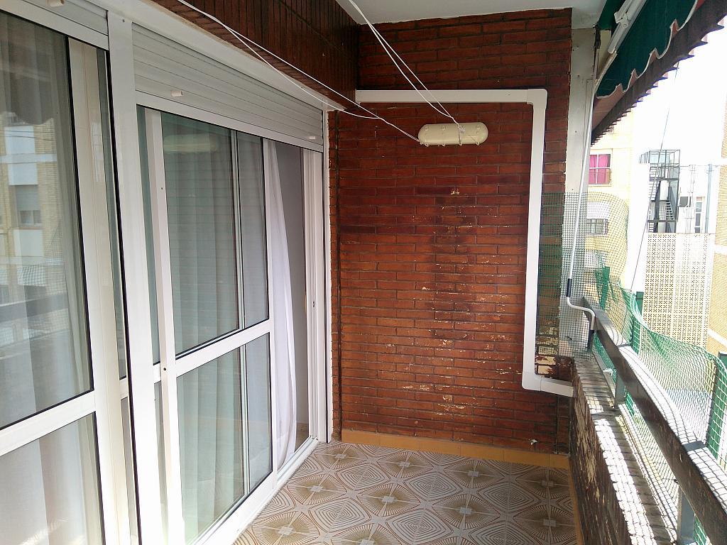 Terraza - Piso en alquiler en calle Marques de Nervion, Nervión en Sevilla - 269055595