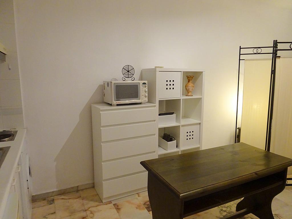 Comedor - Estudio en alquiler en calle Alcalde Luis Uruñuela, Entrepuentes en Sevilla - 335743871