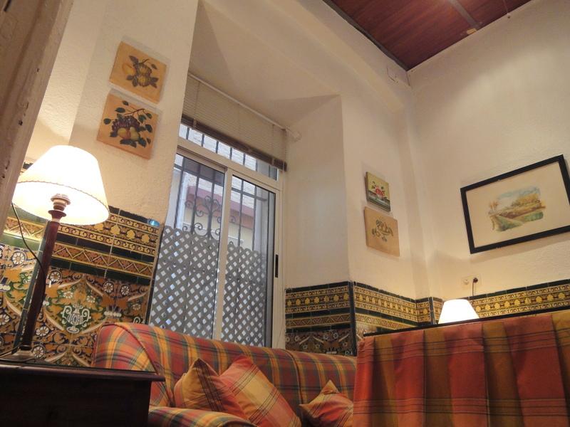Salón - Apartamento en alquiler en calle Aguilas, Casco Antiguo en Sevilla - 117838706