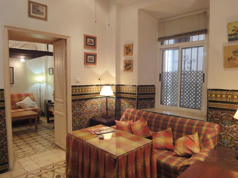 Salón - Apartamento en alquiler en calle Aguilas, Casco Antiguo en Sevilla - 117838712