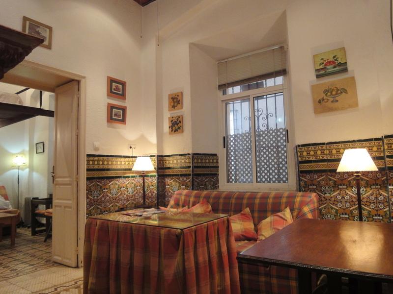 Salón - Apartamento en alquiler en calle Aguilas, Casco Antiguo en Sevilla - 117838714