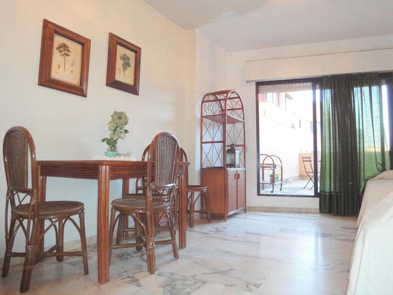 Salón - Estudio en alquiler en calle Alcalde Luis Uruñuela, Este - Alcosa - Torreblanca en Sevilla - 121087351