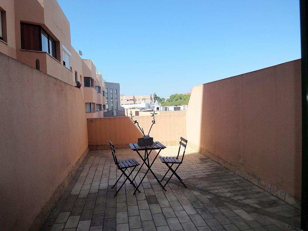 Terraza - Estudio en alquiler en calle Alcalde Luis Uruñuela, Este - Alcosa - Torreblanca en Sevilla - 145652253