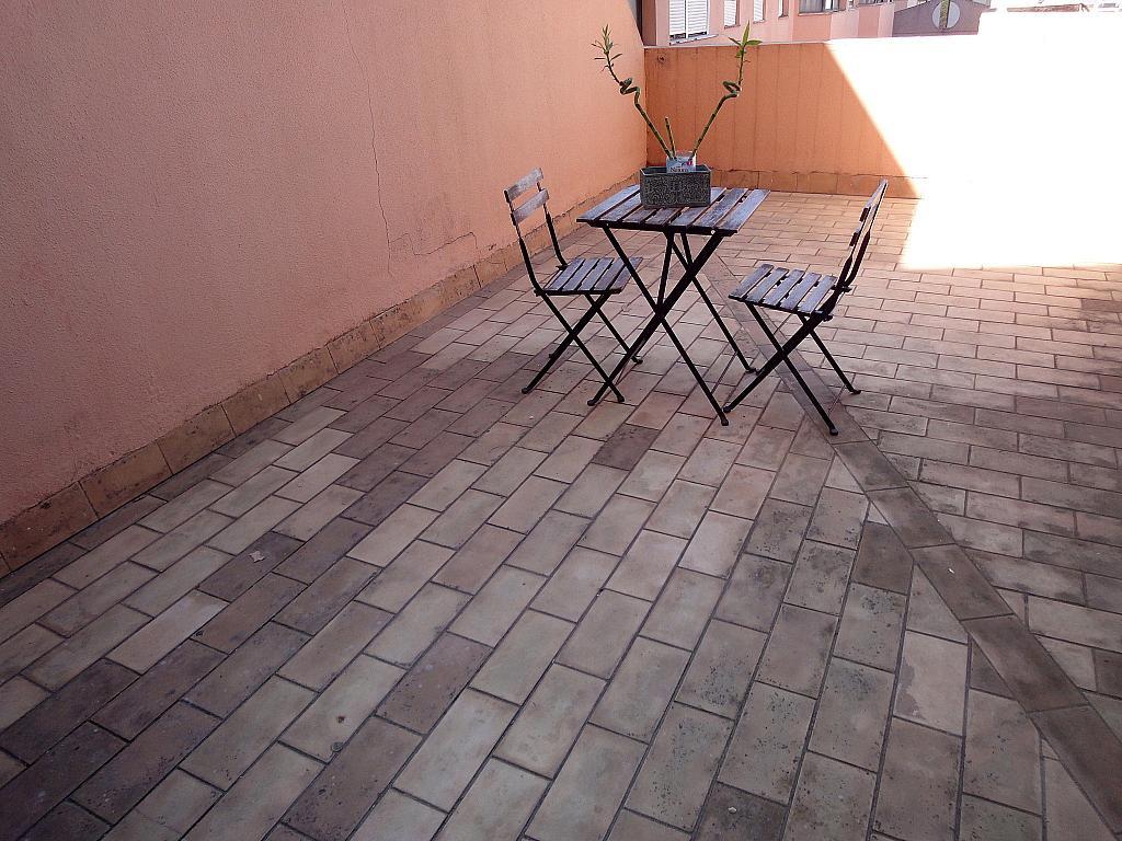 Terraza - Estudio en alquiler en calle Alcalde Luis Uruñuela, Este - Alcosa - Torreblanca en Sevilla - 145652288