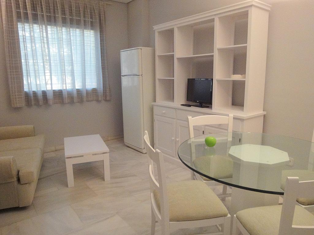 Salón - Apartamento en alquiler en calle Alcalde Luis Uruñuela, Entrepuentes en Sevilla - 127135248