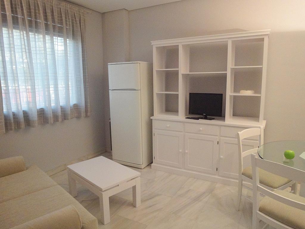 Salón - Apartamento en alquiler en calle Alcalde Luis Uruñuela, Entrepuentes en Sevilla - 127135253