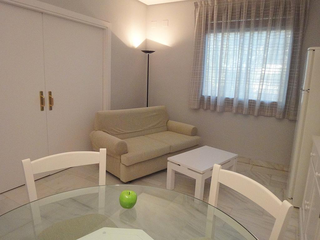 Salón - Apartamento en alquiler en calle Alcalde Luis Uruñuela, Entrepuentes en Sevilla - 127135258