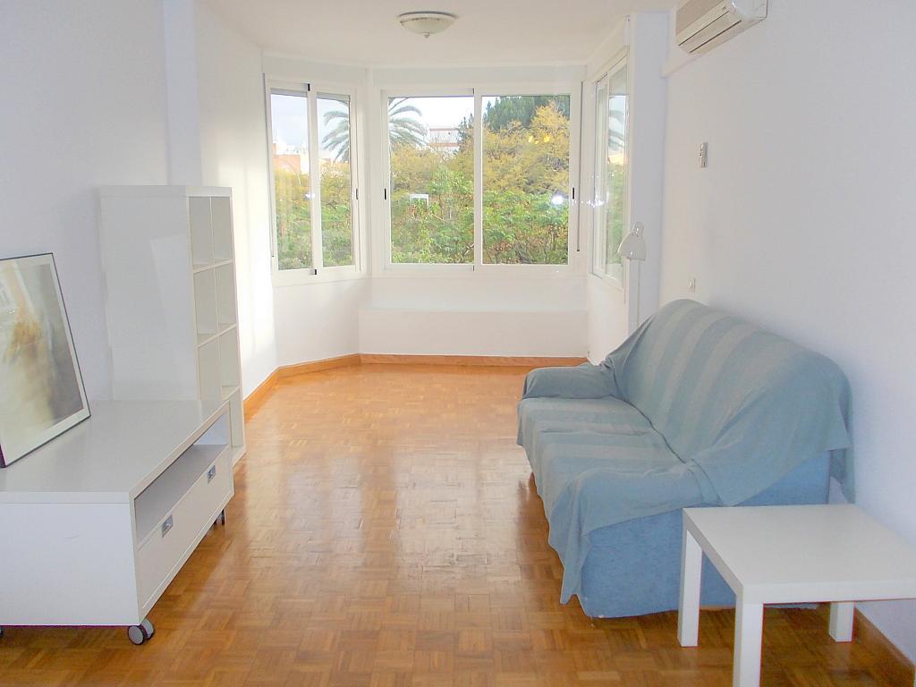 Salón - Piso en alquiler en calle Eduardo Dato, Nervión en Sevilla - 136500542